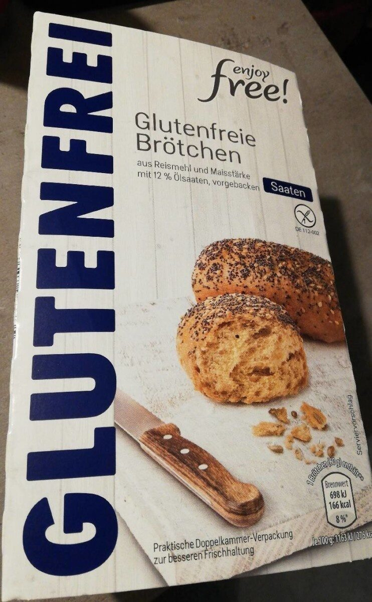 Glutenfreie Brötchen - Produit - de