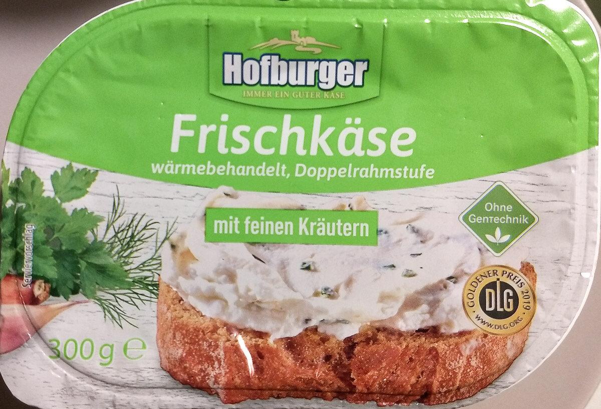 Frischkäse mit feinen Kräutern - Produkt - de