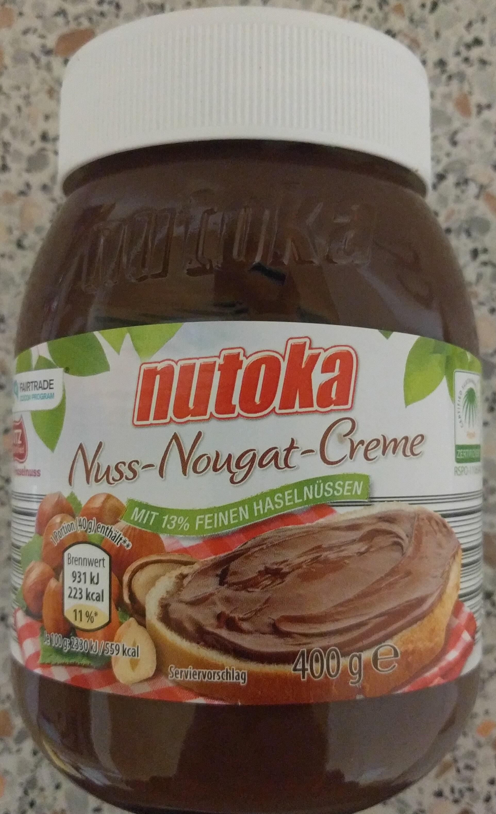 Nutoka noisette nougat crème - Produkt