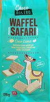 Waffel Safari Choco Lama - Produit - de