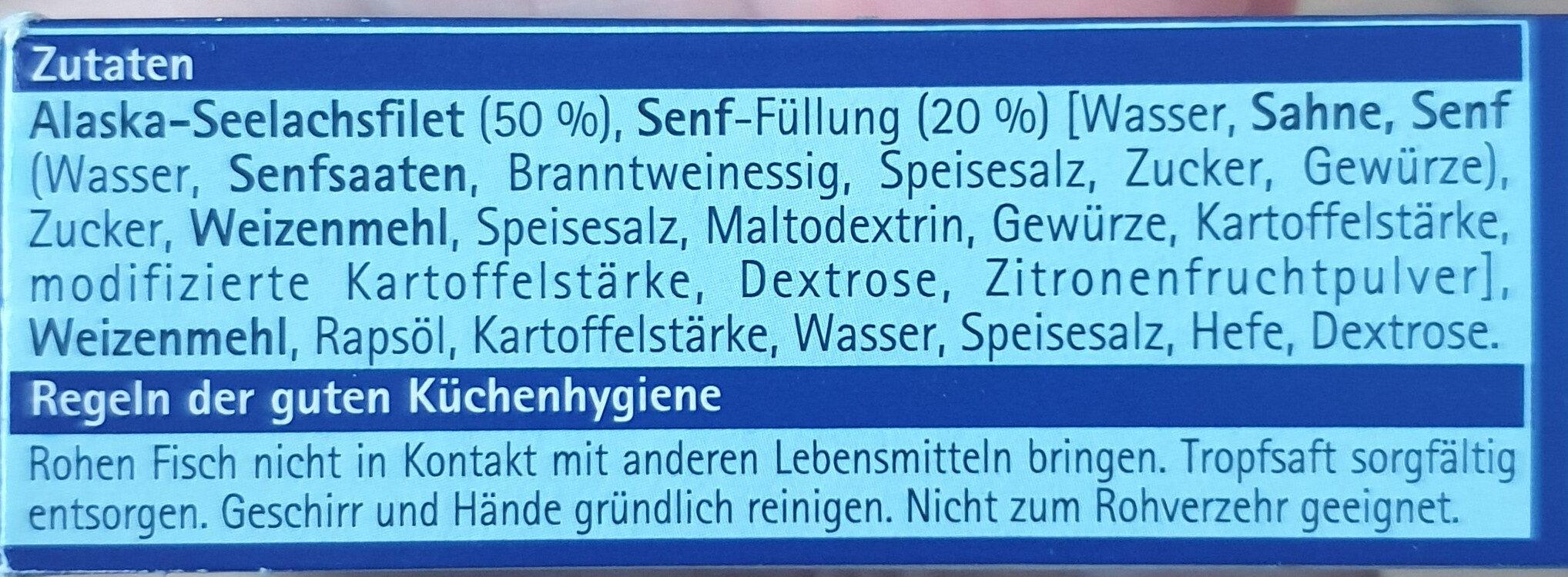 """Knusperfilets """"Senfsauce"""" - Ingrediënten - de"""
