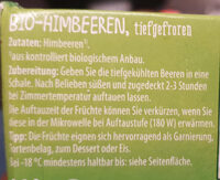 Himbeeren - Ingredients - en