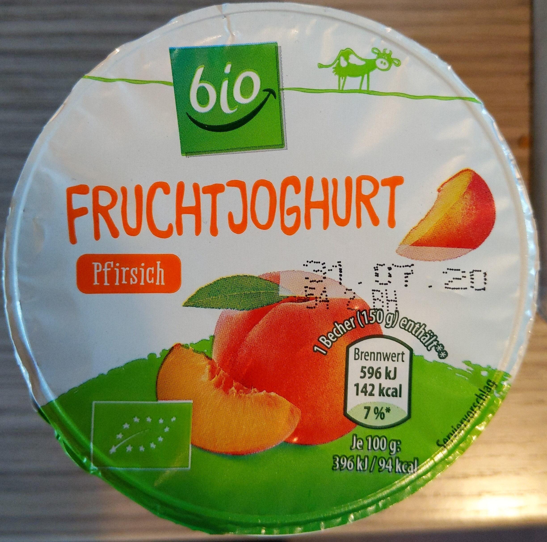 Fruchtjoghurt Pfirsich - Produit - de