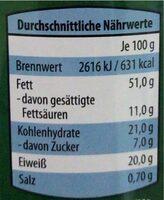 Cashew-kerne - Nutrition facts - de