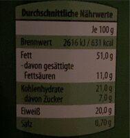 Cashew-Kerne - Informations nutritionnelles - de