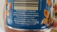 Erdnüsse - Ingredients