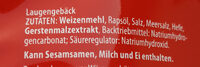 Salz Bretzeln - Ingredients - de