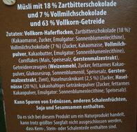 Schokomüsli - Zutaten - de