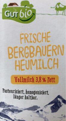 Frische Bergbauern Heumilch - Product - de