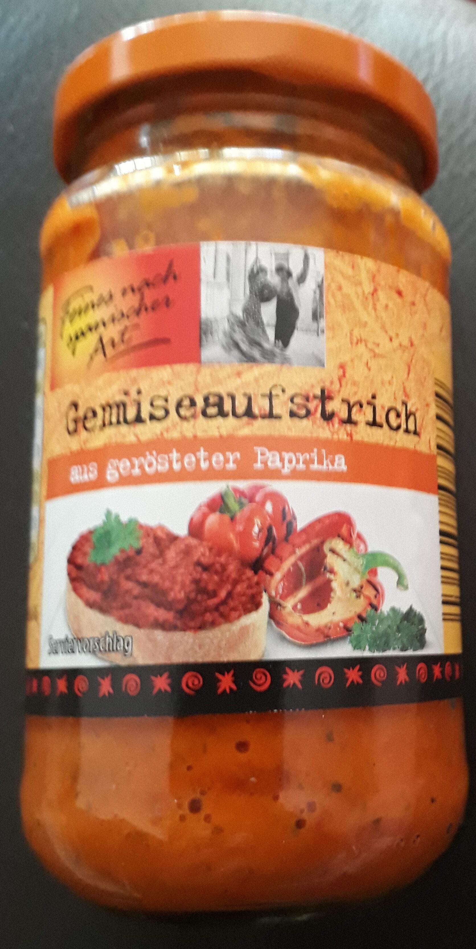 Gemüseaufstrich aus gerösteter Paprika - Product - de