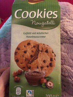 Cookies Nougatelli - Produkt - de
