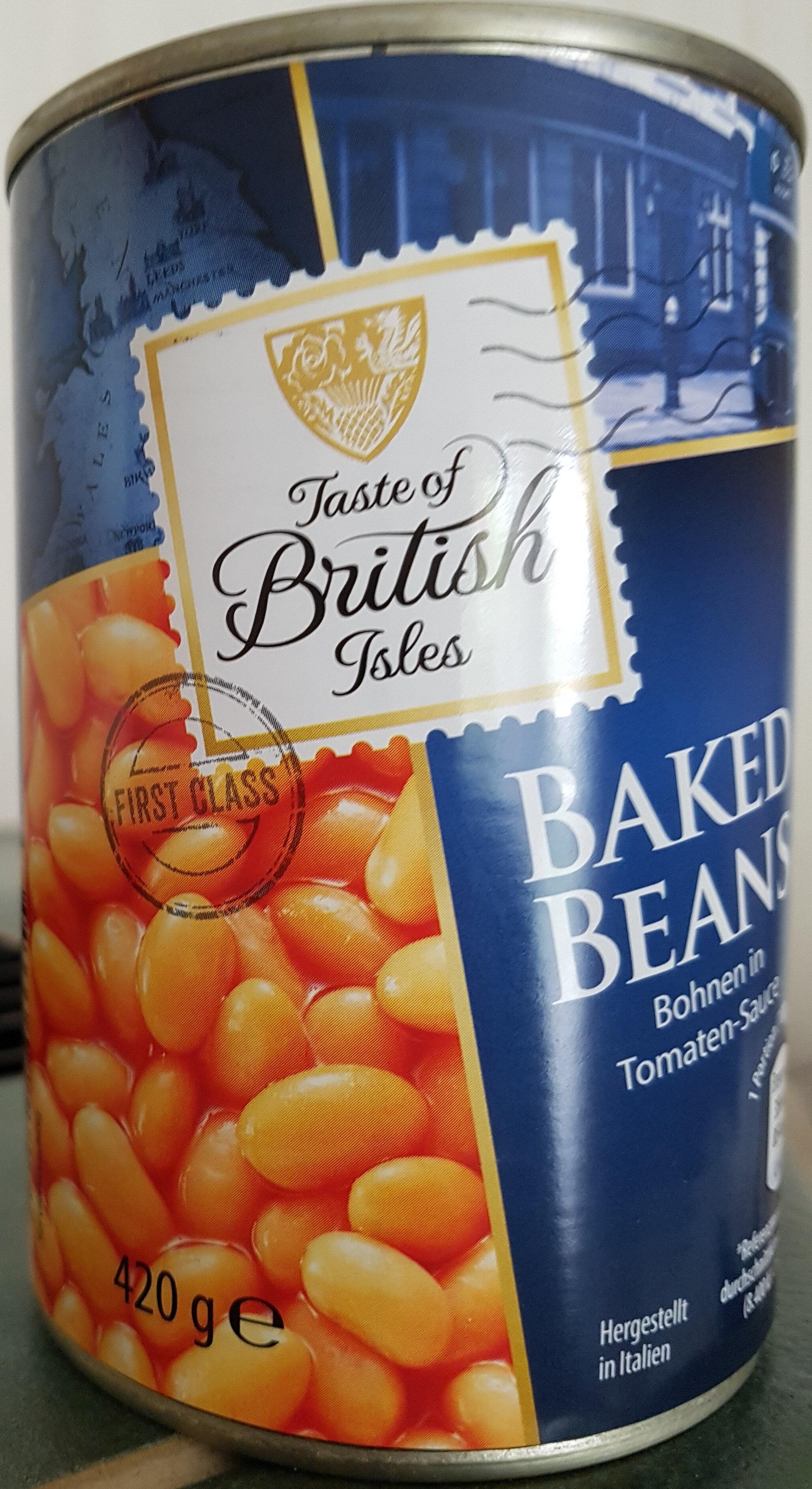 Baked Beans Bohnen in Tomatensauce - Product
