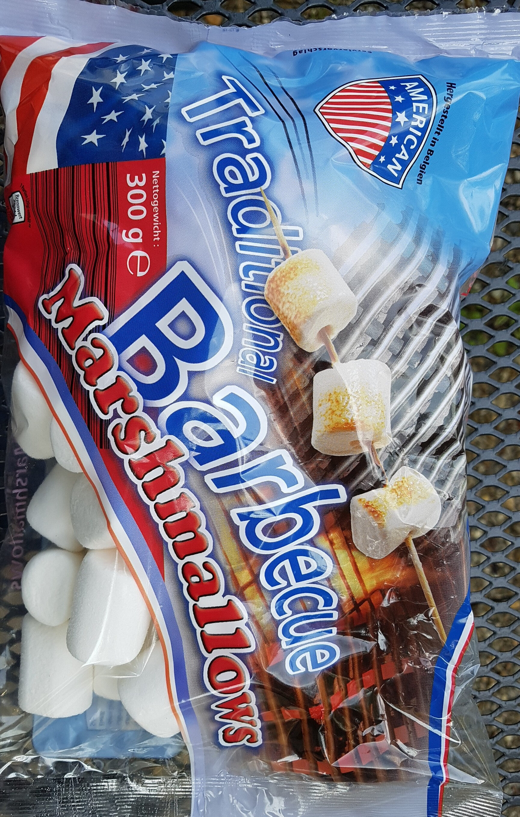 AMERICAN Barbecue Marshmallows - Produit - de