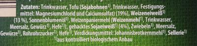 Bio Veggie Schnitzel - Ingredients - de