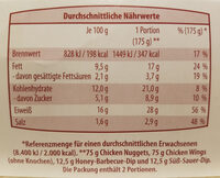 CHICKEN BOX - Nutrition facts - de