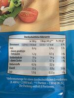 Protein wraps - Voedingswaarden