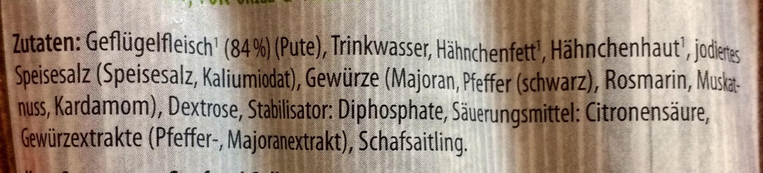 Bruzzlkracher - Ingredients