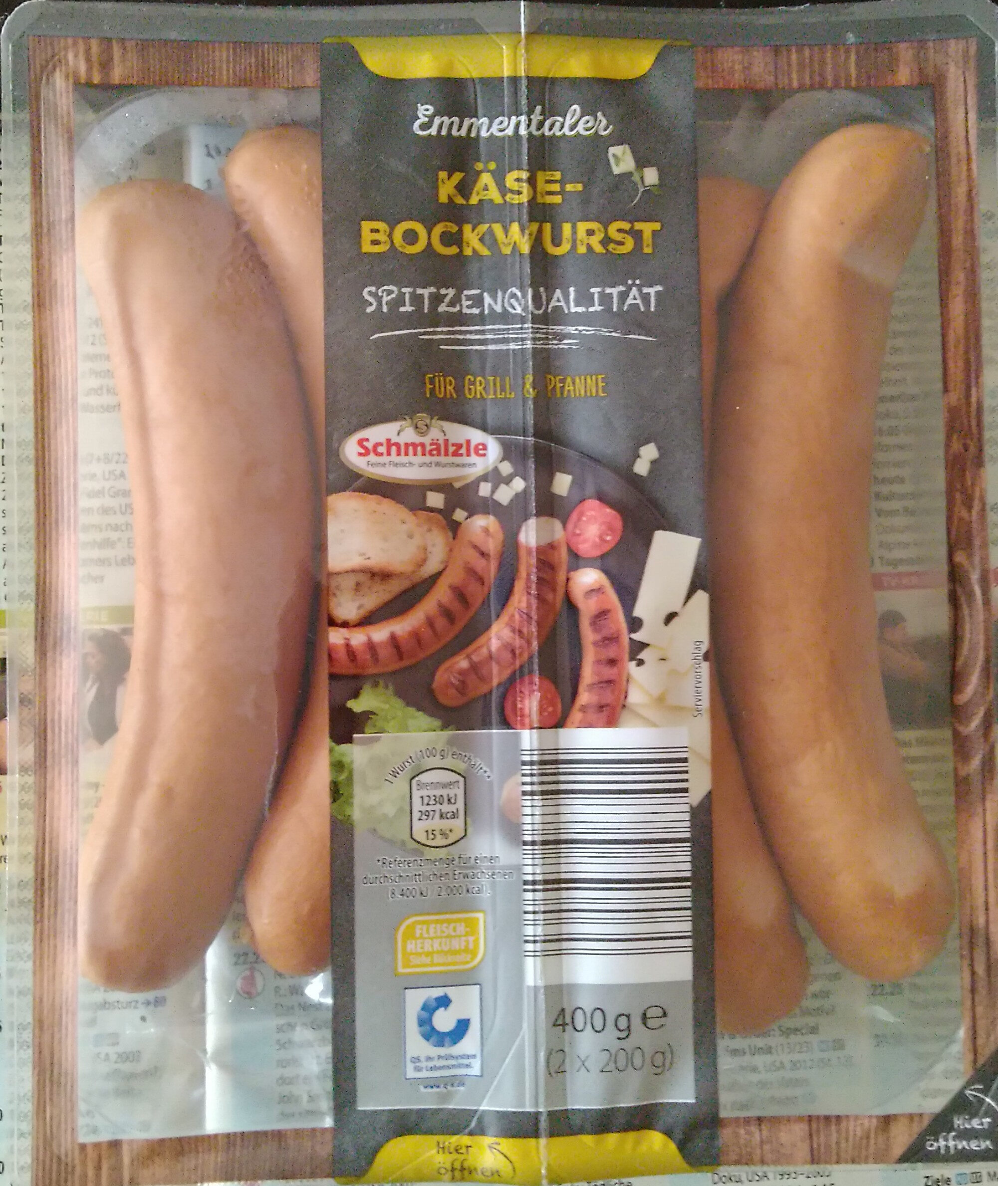Käse-Bockwurst - Product - de