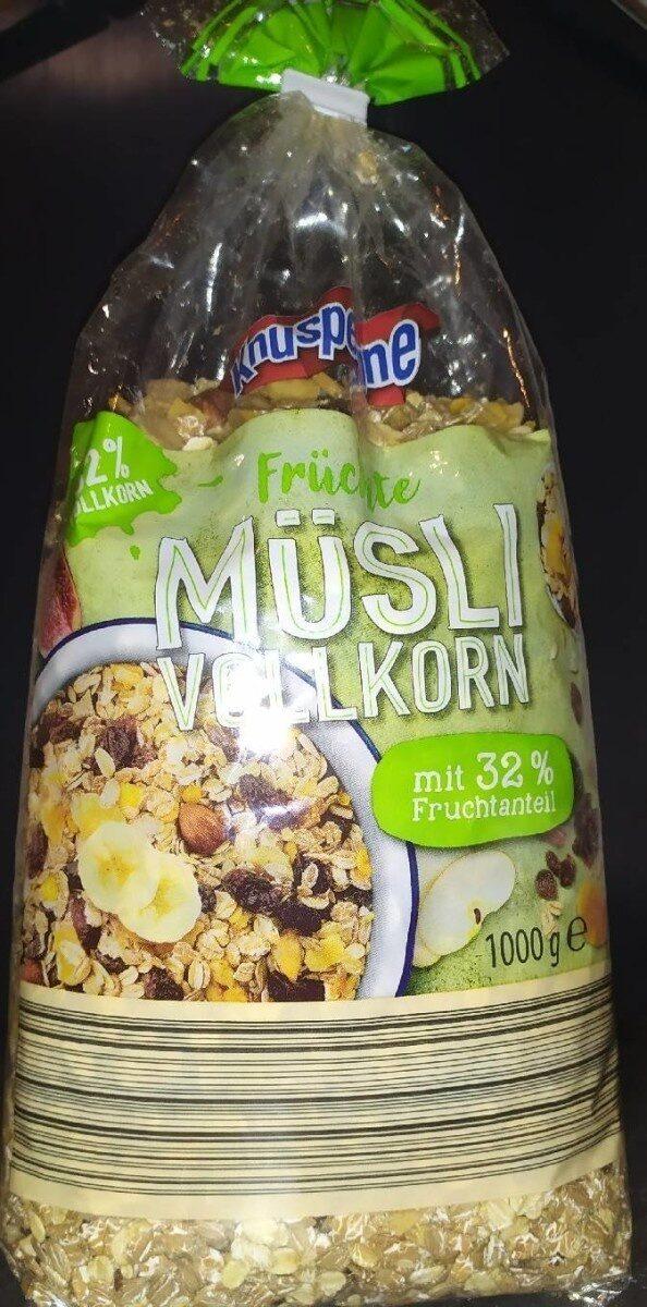 Früchte Müsli Vollkorn - Produkt - de