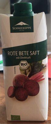 Rote Bete Saft - Produit - de