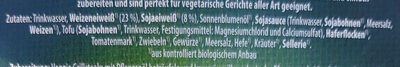 Veggi Grillsteaks - Ingrédients