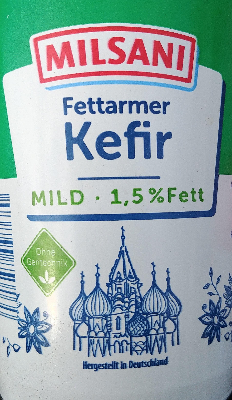 Fettemer Kefir mild 1,5% - Produit - de