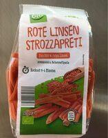Strozzapreti 100% lentilles rouges - Prodotto - fr