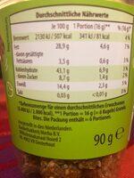 Choco Bistro ( Granola Bites) - Informations nutritionnelles - fr