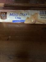 Müsli Duo Chia Heidelbeere - Product