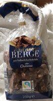 Erdnussberge mit Vollmilchschokolade - Produkt - de