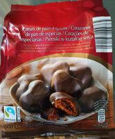 Corazones de pan de especies - Zutaten - de
