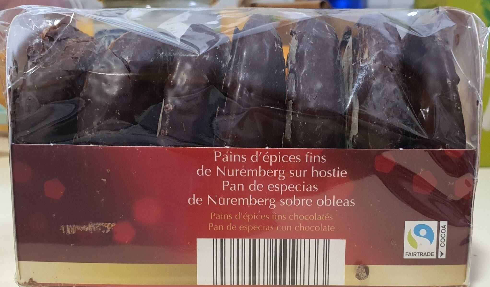 Pan de especias sobre obleas cubierto de chocolate - Product - en