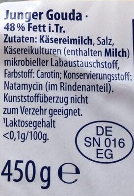Gauda - Ingredients
