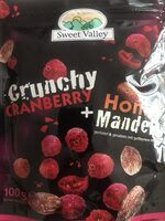Crunchy Cranberry + Honig Mandeln - Product - de