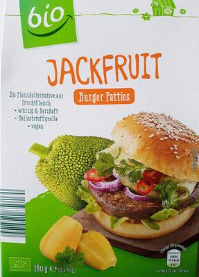 Jackfruit Burger Patties Bio 180 G