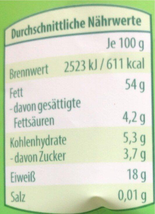 Amande - Voedingswaarden - de