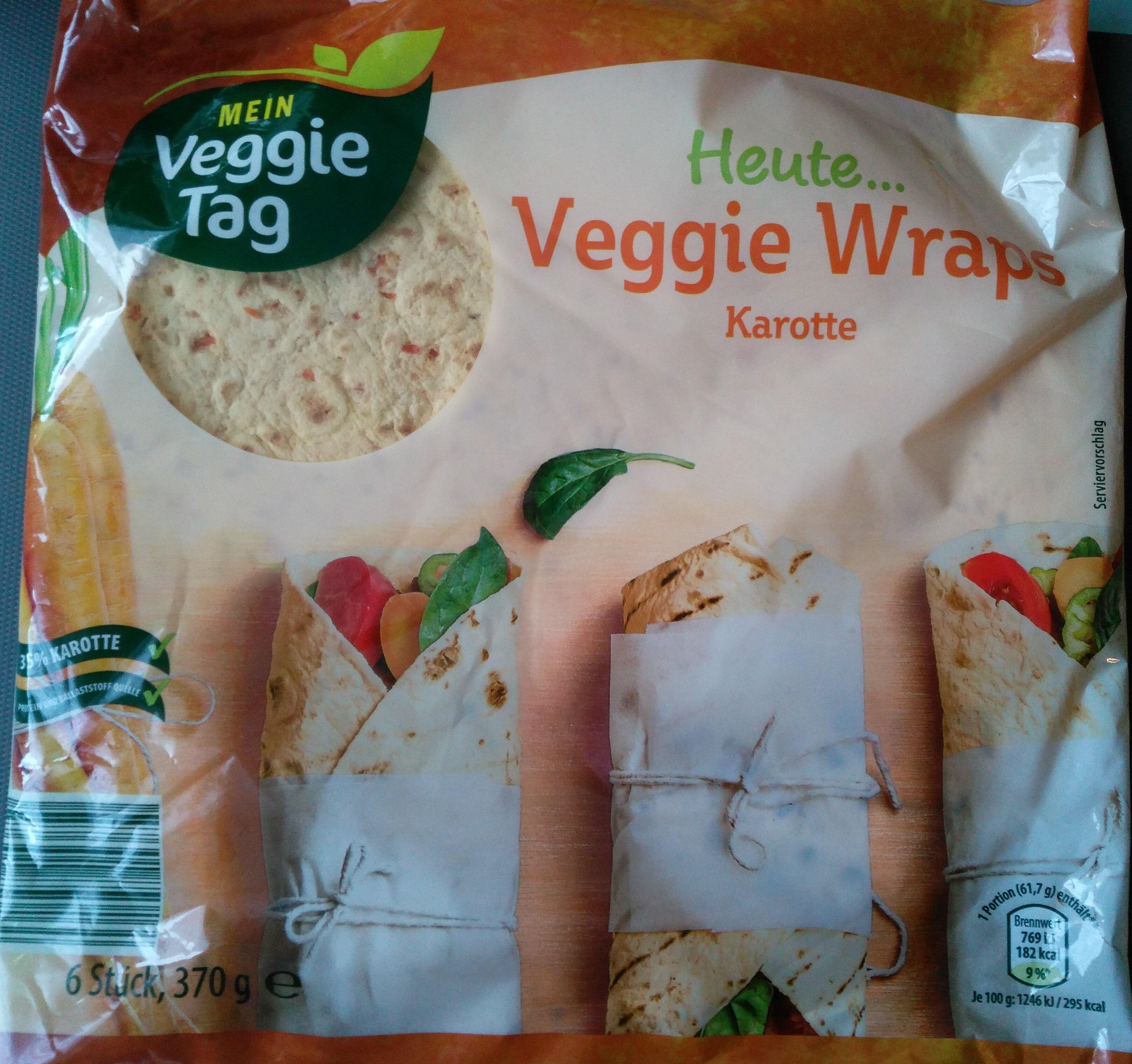Veggie Wraps - Karotte - Produkt - de