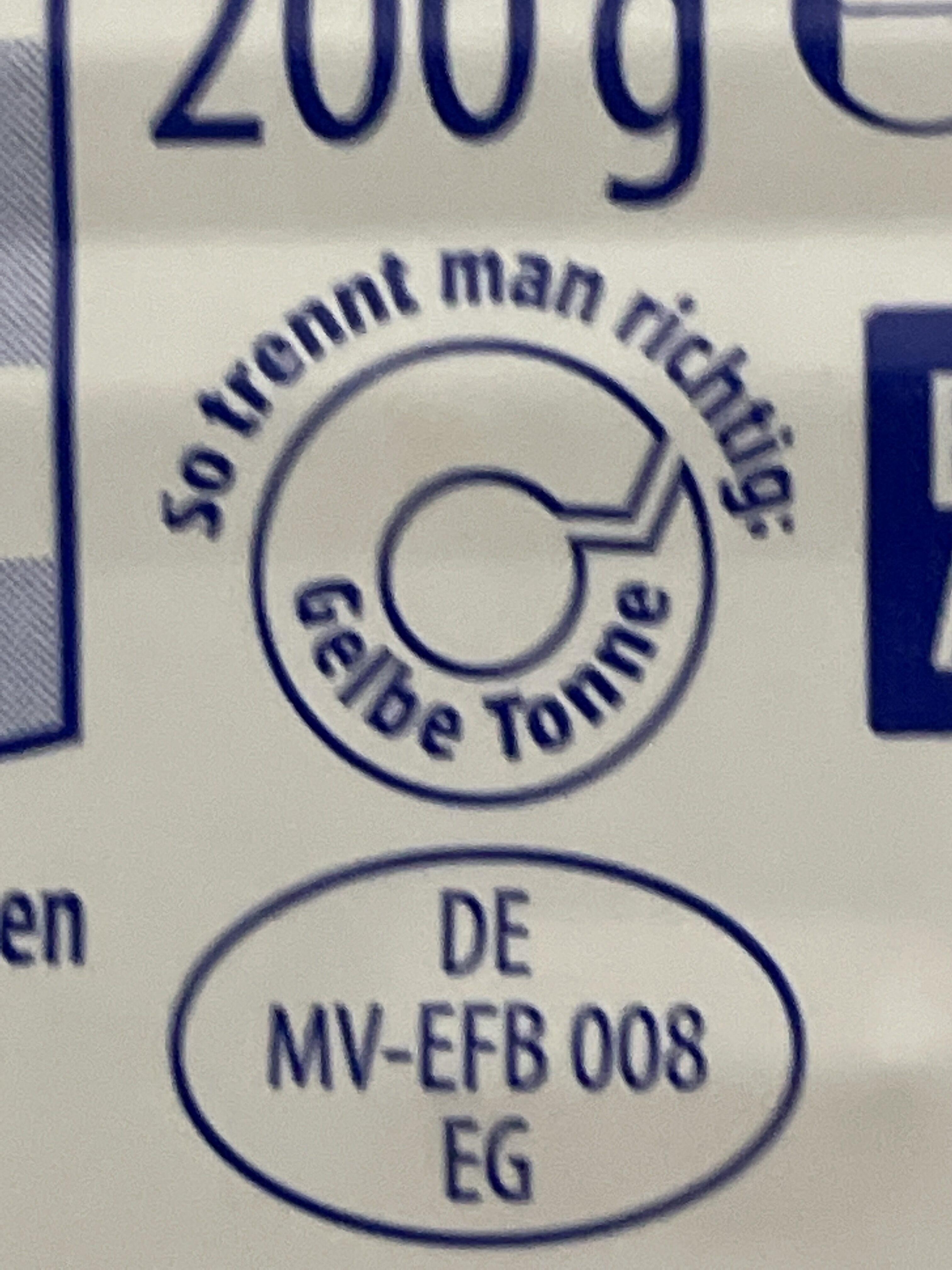 Lachsfilet in herzhafter Tomatensauce - Instruction de recyclage et/ou informations d'emballage - de
