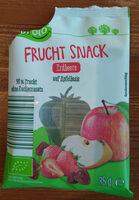 Frucht Snack Erdbeere auf Apfelbasis - Produkt - de