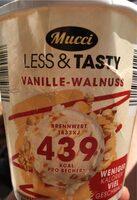 Less&Tasty Vanille Walnuss - Produkt - de