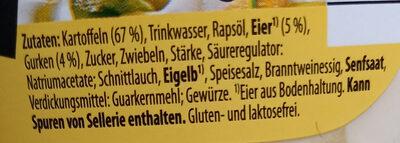 Kartoffelsalat mit Ei und Gurke - Zutaten - de