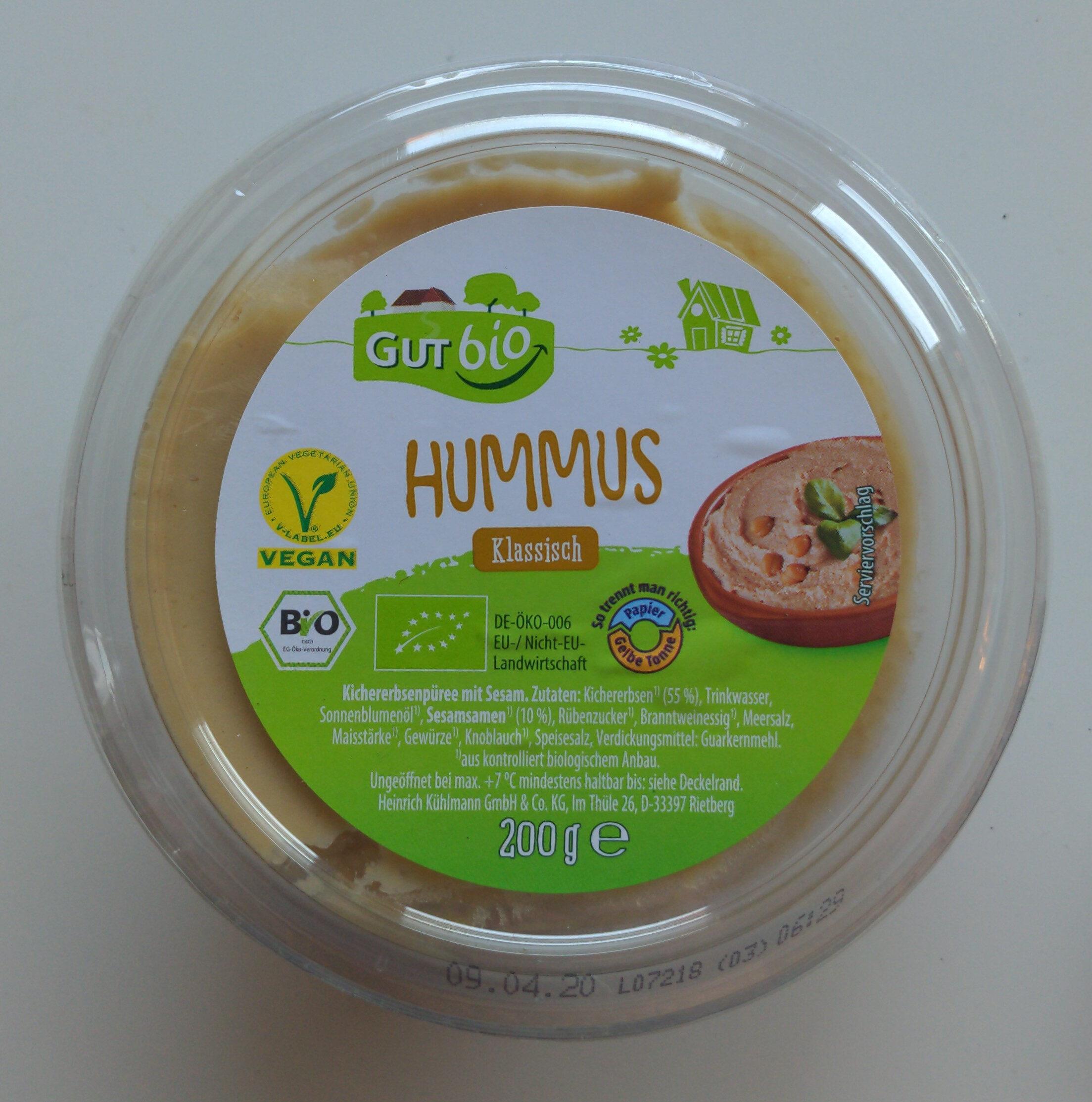 Hummus Klassisch - Product - de