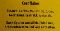 Corn Flakes - Zutaten - de