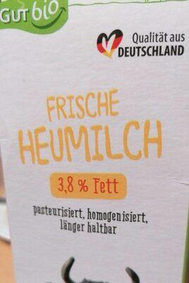 Frische Heumilch - Valori nutrizionali - de