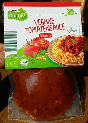 Vegane Tomatensauce Bolognese - Produit - de
