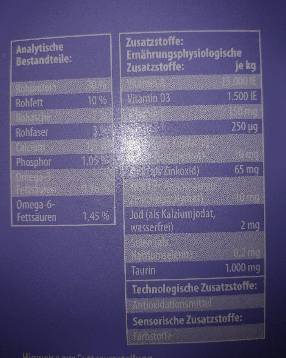 MSC Weissfisch - Nährwertangaben - de