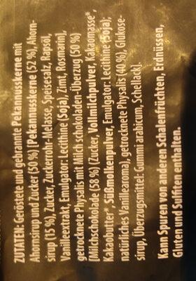 In Ahornsirup karamellisierte Pekannusskerne - Ingredienti - de