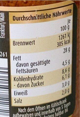Premium Pesto Rosso - Nährwertangaben - de