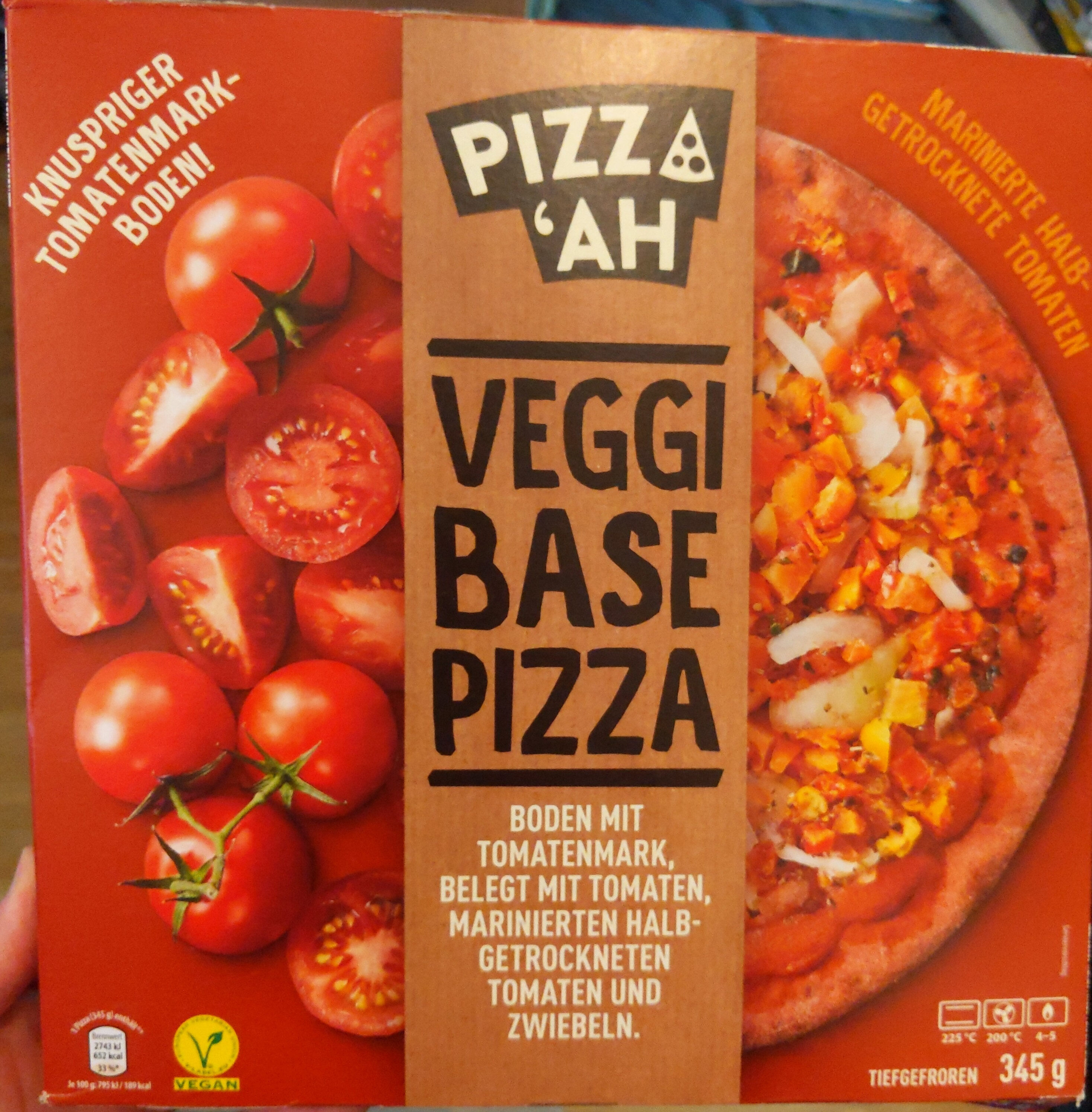 Veggi Base Pizza Tomate - Produit - de