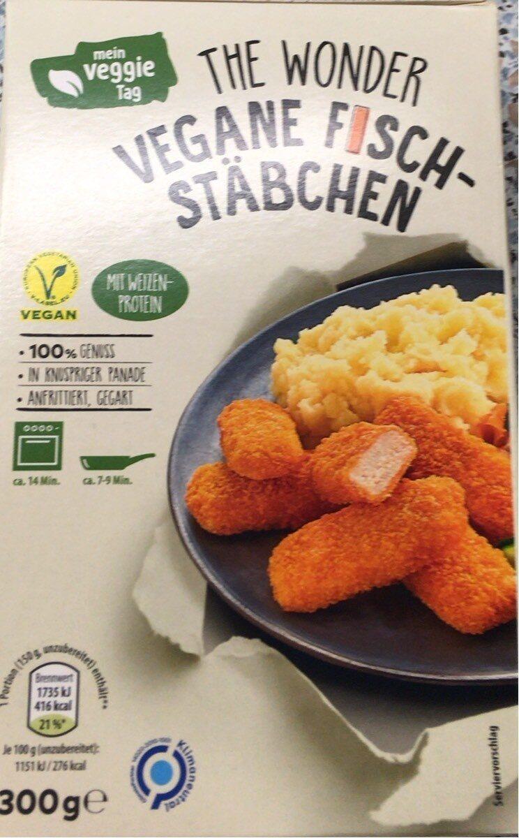 The Wonder vegane Fischstäbchen - Produit - de